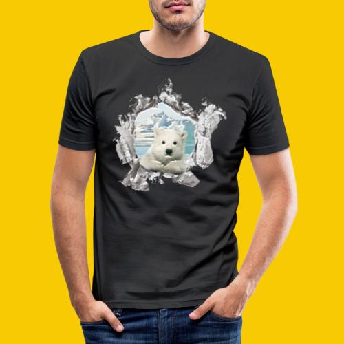 OURS - T-shirt près du corps Homme