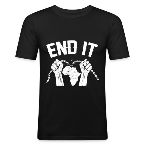 BANTU édition - T-shirt près du corps Homme