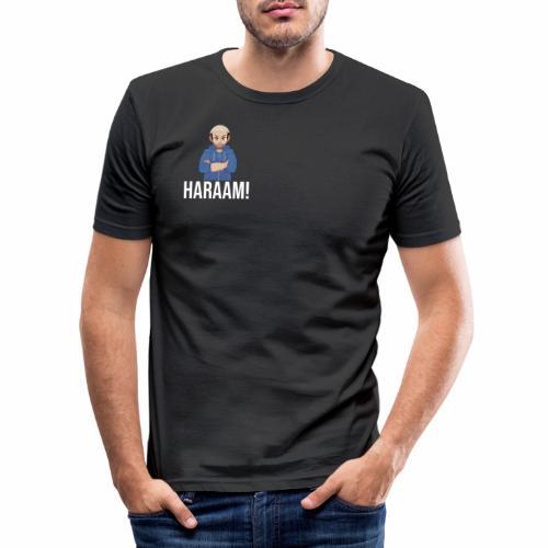 Haraam shirt - Men's Slim Fit T-Shirt