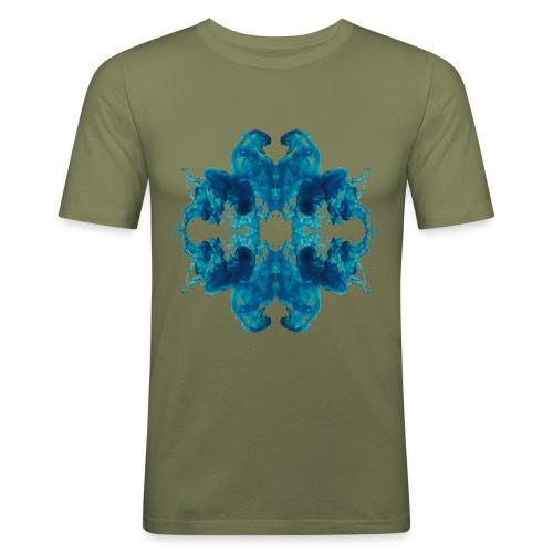 Tintenklecks unter Wasser - Männer Slim Fit T-Shirt