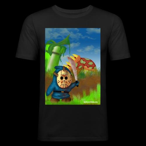 SuperMario: Not so shy guy - Mannen slim fit T-shirt