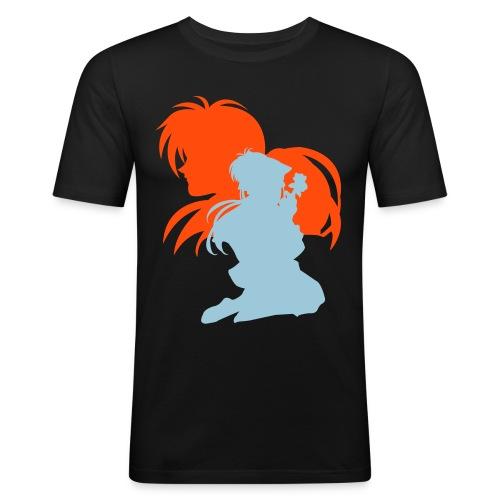kenshinxkaoru - Men's Slim Fit T-Shirt
