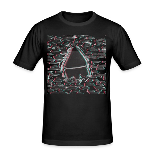 Motif tâches BDH - T-shirt près du corps Homme