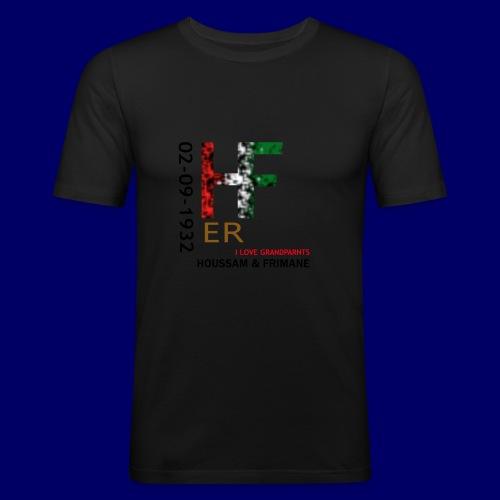 H&F ER - Maglietta aderente da uomo