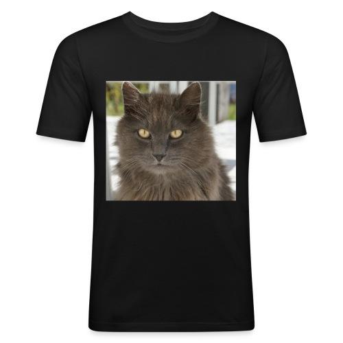 Kater Bärli - Männer Slim Fit T-Shirt