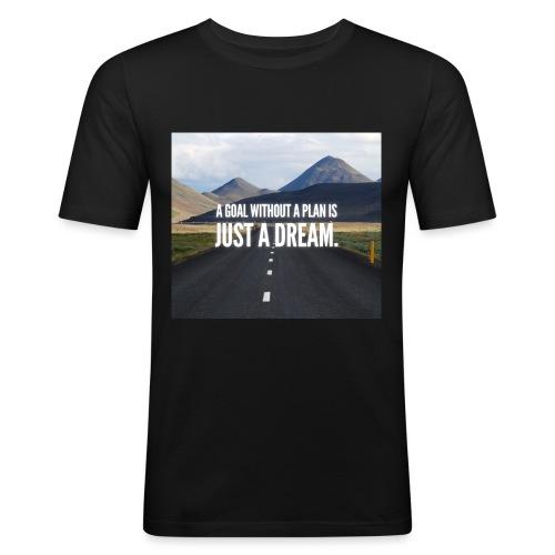 LuxuryQuote - Mannen slim fit T-shirt