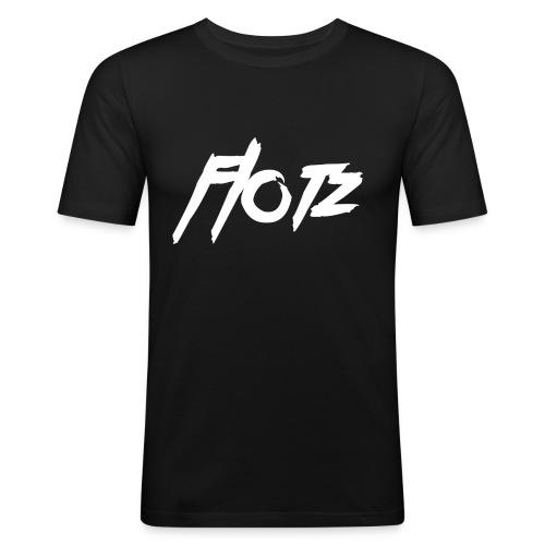 flotz 000000 - Männer Slim Fit T-Shirt