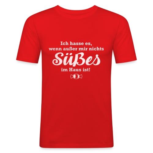 Nichts Süßes - Männer Slim Fit T-Shirt