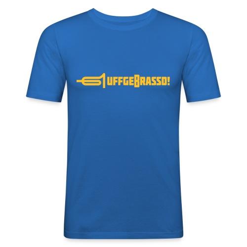uffgebrassd13a - Männer Slim Fit T-Shirt