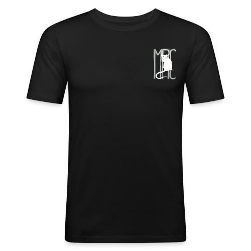MRC-White - Men's Slim Fit T-Shirt