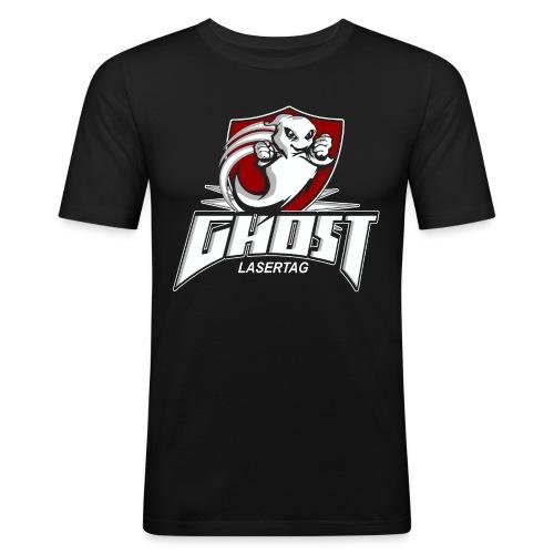ghost no texture - Männer Slim Fit T-Shirt