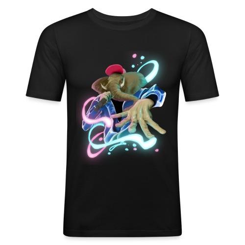 eleswag - Camiseta ajustada hombre