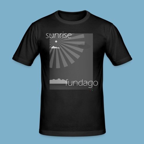 sunrise fundago Motiv - Männer Slim Fit T-Shirt