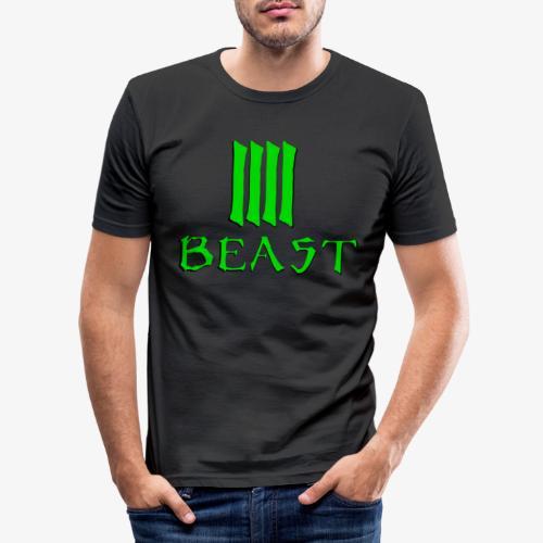 Beast Green - Men's Slim Fit T-Shirt