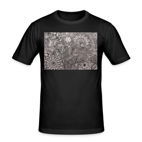 Skdoodle - Men's Slim Fit T-Shirt