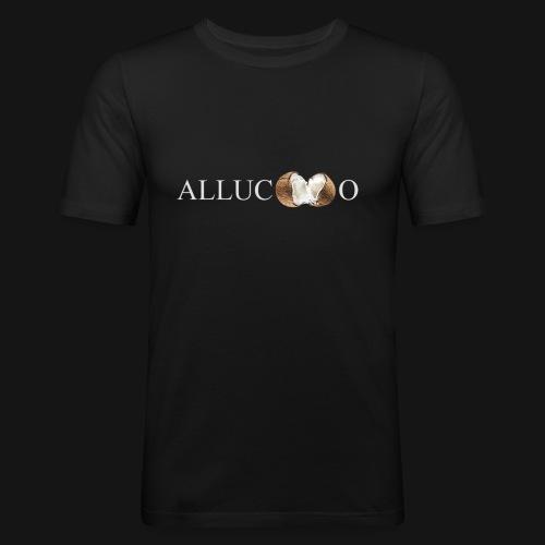 allucoco negro - Camiseta ajustada hombre