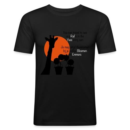 WimTshirtAF - Mannen slim fit T-shirt