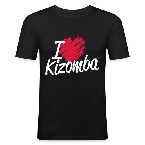 i love kizomba2 - T-shirt près du corps Homme