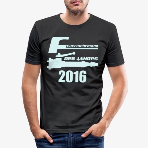 Feuerwehrmann des Jahres - Männer Slim Fit T-Shirt
