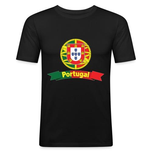 Portugal Campeão Europeu Camisolas de Futebol - Men's Slim Fit T-Shirt