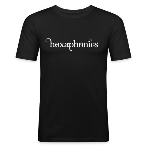 logohexaphonics - Männer Slim Fit T-Shirt
