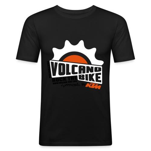 volcanobike-shirt-farbe - Männer Slim Fit T-Shirt