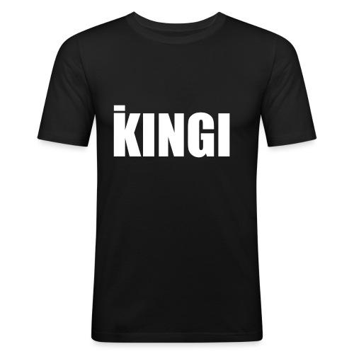 iKINGI - Miesten tyköistuva t-paita