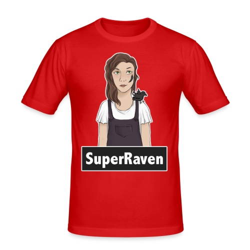 SuperRaven - Men's Slim Fit T-Shirt