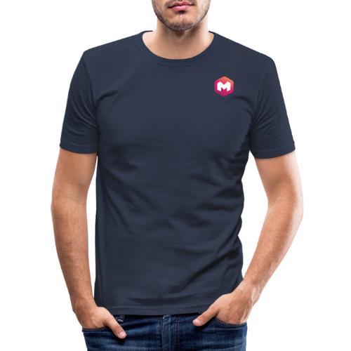 Makum LOGO - Miesten tyköistuva t-paita