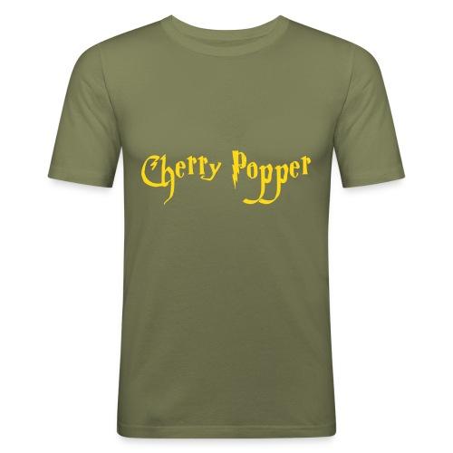 cherry vector - Men's Slim Fit T-Shirt