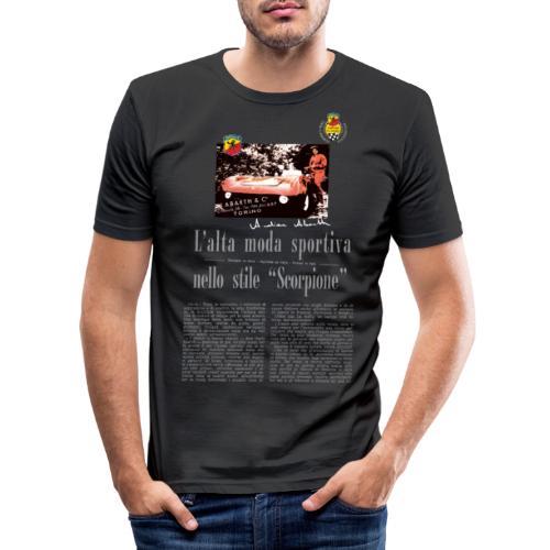 L' alta moda sportiva by Anneliese Abarth - Männer Slim Fit T-Shirt