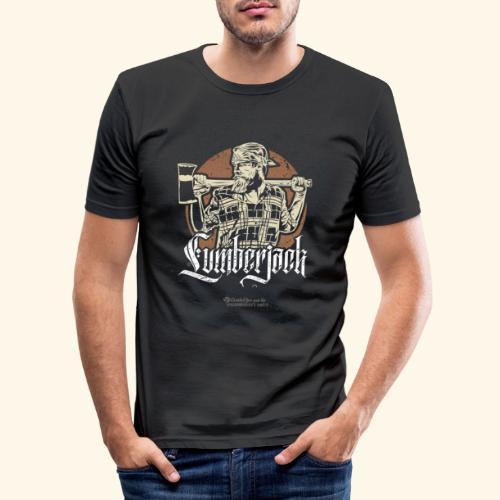 Holzfäller Design Lumberjack - Männer Slim Fit T-Shirt