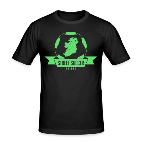 Street Soccer Ireland - Men's Slim Fit T-Shirt