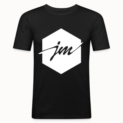 JMclothing | Blank White - Slim Fit T-shirt herr