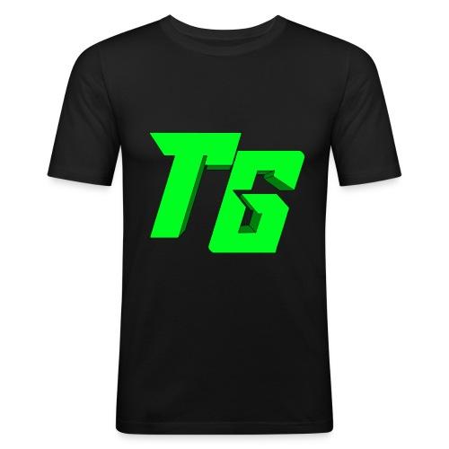 Tristan Jeux marchandises logo [LOGO BIG] - T-shirt près du corps Homme