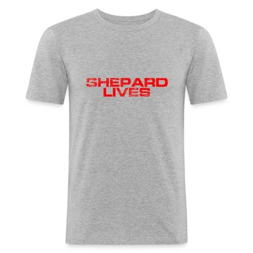 Shepard lives - Men's Slim Fit T-Shirt