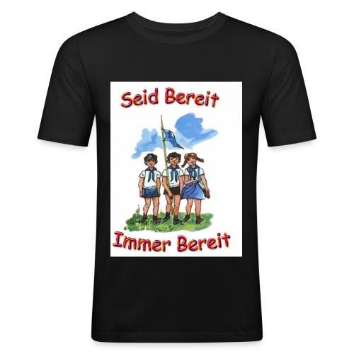 pioniere voran - Männer Slim Fit T-Shirt