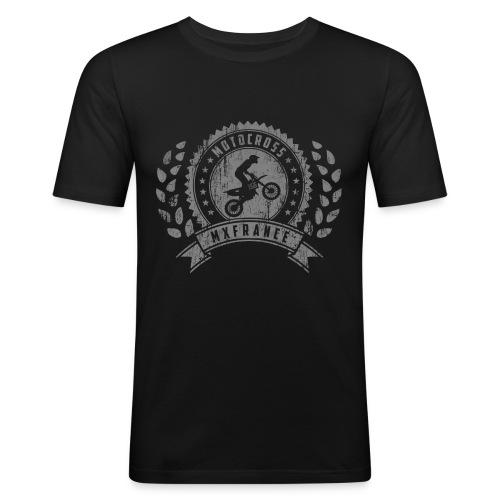 Motocross Retro Champion - T-shirt près du corps Homme