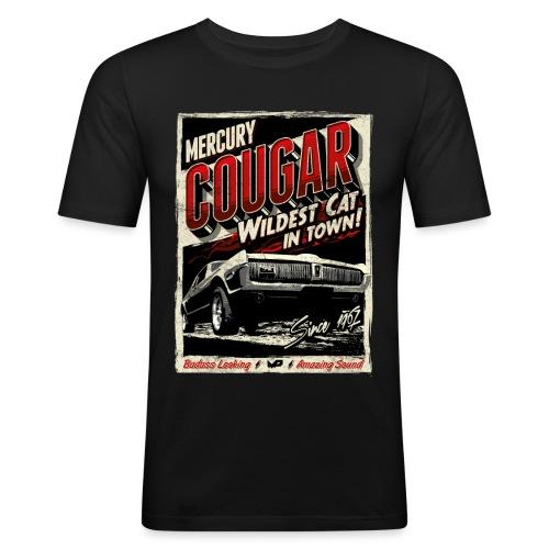Mercury Cougar 1968 rot - Männer Slim Fit T-Shirt