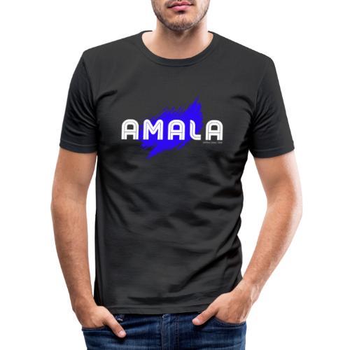 Amala, pazza inter (nera) - Maglietta aderente da uomo