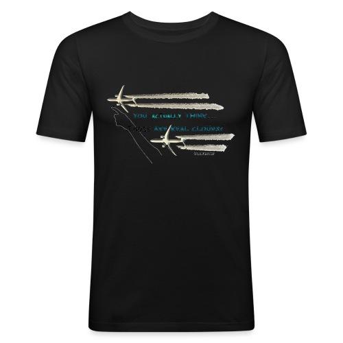 Skywatcher 02 - Mannen slim fit T-shirt