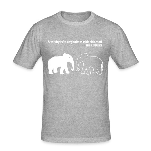 new selfreference - slim fit T-shirt