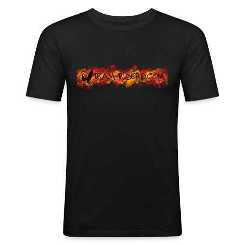 halloween sticker - T-shirt près du corps Homme