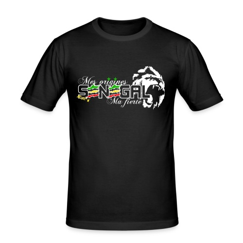 logo senegal png - T-shirt près du corps Homme