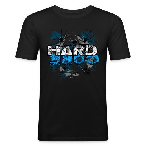 Hard Core - Men's Slim Fit T-Shirt