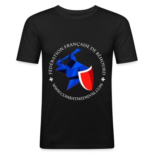 test1 gif - T-shirt près du corps Homme