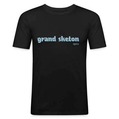 grandsketon - T-shirt près du corps Homme