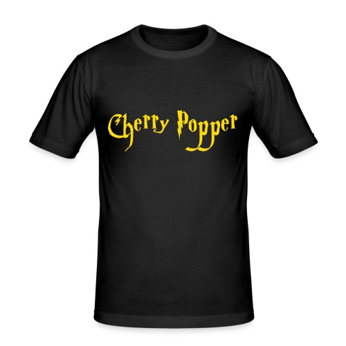 cherry vector - Men's Slim Fit T-Shirt