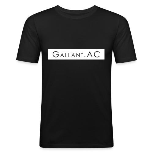 White - Men's Slim Fit T-Shirt