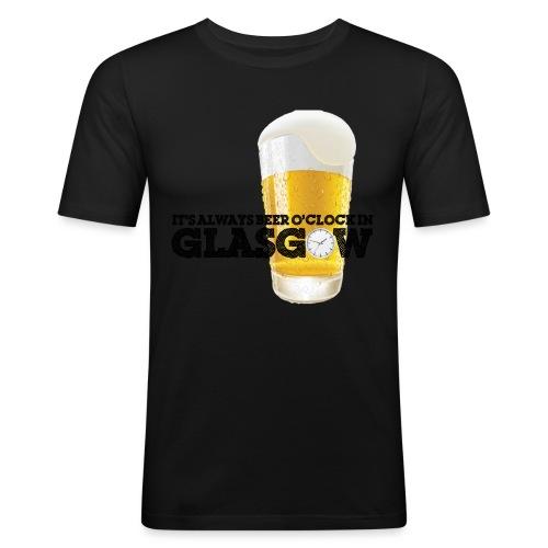 Beer O Clock - Men's Slim Fit T-Shirt